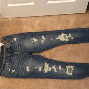 Abercrombie and Fitch Distressed Jeans size 27/4 S